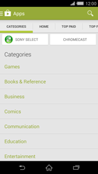 Sony Xperia Z2 - Applications - Installing applications - Step 6