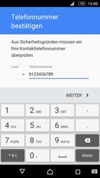 Sony E5603 Xperia M5 - Apps - Konto anlegen und einrichten - Schritt 8