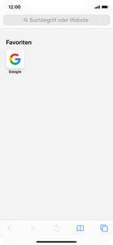 Apple iPhone X - iOS 13 - Internet und Datenroaming - Verwenden des Internets - Schritt 13