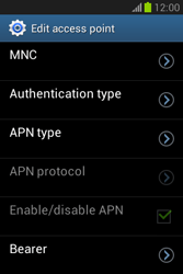 Samsung Galaxy Fame Lite - MMS - Manual configuration - Step 15