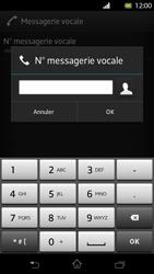 Sony LT30p Xperia T - Messagerie vocale - Configuration manuelle - Étape 7