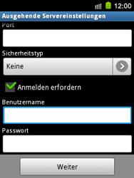 Samsung Galaxy Mini - E-Mail - Konto einrichten - 1 / 1