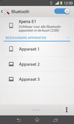Sony D2005 Xperia E1 - bluetooth - aanzetten - stap 7