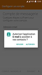 ZTE Blade V8 - E-mail - Configuration manuelle (outlook) - Étape 5