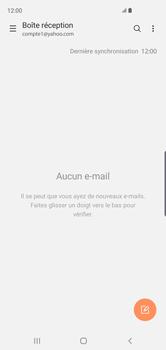 Samsung Galaxy S10 - E-mail - 032b. Email wizard - Yahoo - Étape 5