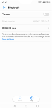 Huawei P20 Pro - Bluetooth - Connecting devices - Step 5