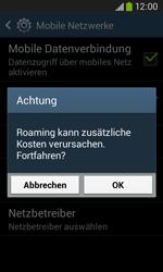 Samsung Galaxy Core Plus - Ausland - Im Ausland surfen – Datenroaming - 9 / 12