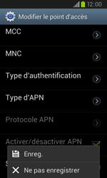Samsung I9105P Galaxy S II Plus - Internet - configuration manuelle - Étape 15