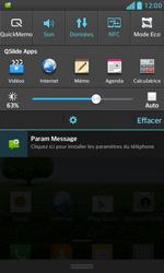 LG E975 Optimus G - Paramètres - Reçus par SMS - Étape 4