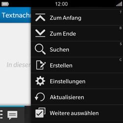 BlackBerry Q5 - MMS - Manuelle Konfiguration - Schritt 4