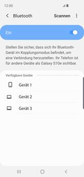 Samsung Galaxy S10e - Bluetooth - Geräte koppeln - 9 / 12