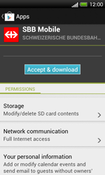 HTC One SV - Applications - Installing applications - Step 20