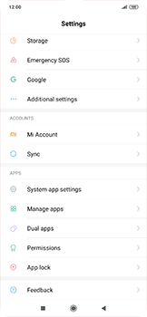 Xiaomi RedMi Note 7 - Applications - How to uninstall an app - Step 3