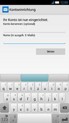 Alcatel OT-6034 Idol S - E-Mail - Konto einrichten - Schritt 20