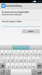 Alcatel One Touch Idol S - E-Mail - Manuelle Konfiguration - Schritt 24