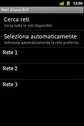 Alcatel OT-983 - Rete - selezione manuale della rete - Fase 11