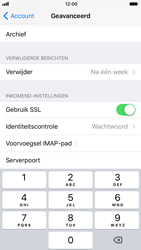 Apple iPhone 6s - iOS 11 - E-mail - Account instellen (IMAP zonder SMTP-verificatie) - Stap 25