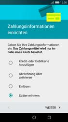 Huawei P8 Lite - Apps - Konto anlegen und einrichten - 17 / 19