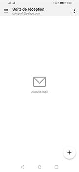 Huawei Y6 (2019) - E-mails - Ajouter ou modifier votre compte Yahoo - Étape 3