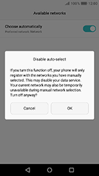 Huawei Y6 (2017) - Network - Manually select a network - Step 7