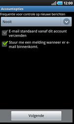 Samsung I9000 Galaxy S - E-mail - Handmatig instellen - Stap 11