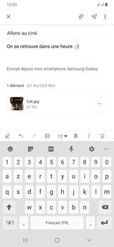 Samsung Galaxy A50 - E-mails - Envoyer un e-mail - Étape 20