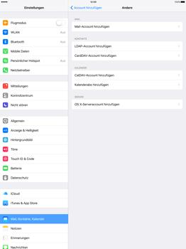Apple iPad Pro 12.9 inch - E-Mail - Konto einrichten - Schritt 6