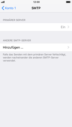 Apple iPhone 7 - iOS 12 - E-Mail - Manuelle Konfiguration - Schritt 20
