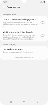 Samsung Galaxy A30 - wifi - schakel Wi-Fi Assistentie uit - stap 11