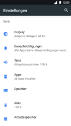 Nokia 3 - Apps - Eine App deinstallieren - Schritt 4
