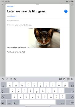 Apple iPad Pro 11 inch 2nd generation (2020) (Model A2230) - E-mail - Hoe te versturen - Stap 15