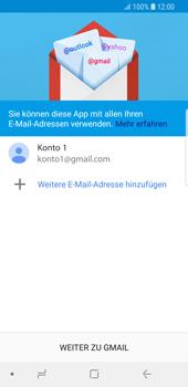 Samsung Galaxy S9 - E-Mail - Konto einrichten (gmail) - 13 / 16