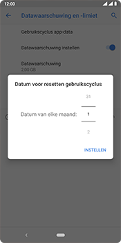 Nokia 3.1 Plus - Android Pie - internet - mobiele data managen - stap 8