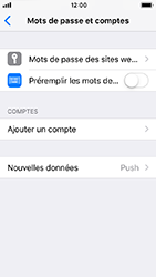 Apple iPhone SE - iOS 12 - E-mail - Configurer l