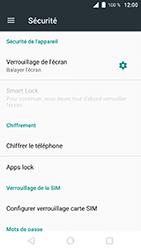 Wiko WIM Lite - Sécuriser votre mobile - Activer le code de verrouillage - Étape 5