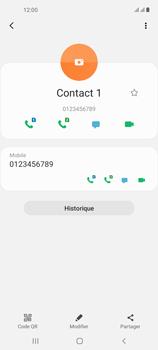 Samsung Galaxy A21s - Contact, Appels, SMS/MMS - Ajouter un contact - Étape 9
