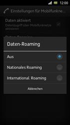 Sony Xperia U - Internet und Datenroaming - Deaktivieren von Datenroaming - Schritt 7