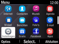Nokia Asha 210 - MMS - Handmatig instellen - Stap 3