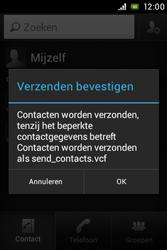 Sony ST23i Xperia Miro - contacten, foto