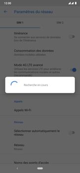 Nokia 6.2 - Réseau - Sélection manuelle du réseau - Étape 10
