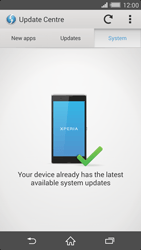 Sony Xperia Z2 - Software - Installing software updates - Step 8