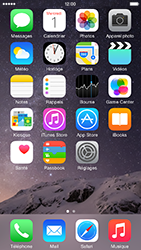 Apple iPhone 6 iOS 8 - Wifi - configuration manuelle - Étape 1