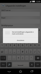 Sony D6503 Xperia Z2 - E-mail - Account instellen (IMAP zonder SMTP-verificatie) - Stap 15