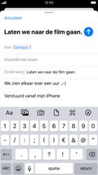 Apple iPhone SE (2020) (Model A2296) - E-mail - Hoe te versturen - Stap 8