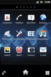 Sony ST27i Xperia Go - netwerk en bereik - gebruik in binnen- en buitenland - stap 3