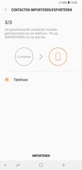 Samsung galaxy-note-8-sm-n950f-android-oreo - Contacten en data - Contacten kopiëren van SIM naar toestel - Stap 13