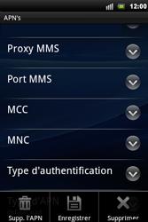 Sony Xperia Mini Pro - MMS - Configuration manuelle - Étape 11
