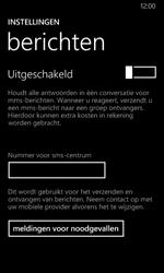 Nokia Lumia 635 - sms - handmatig instellen - stap 8