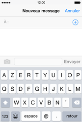 Apple iPhone 4S (iOS 8) - Contact, Appels, SMS/MMS - Envoyer un MMS - Étape 4