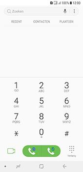 Samsung Galaxy A6 - Voicemail - handmatig instellen - Stap 5